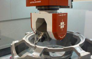 Machining of MRI-scanner frames